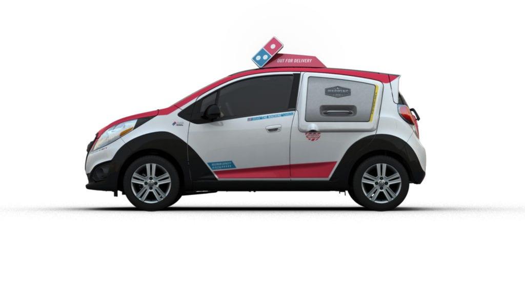 Domino's Chevrolet Spark